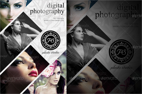 modern photography studio flyer