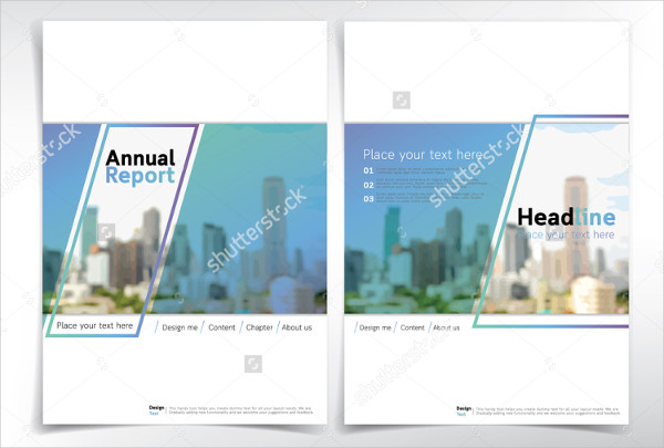 modern real estate brochure