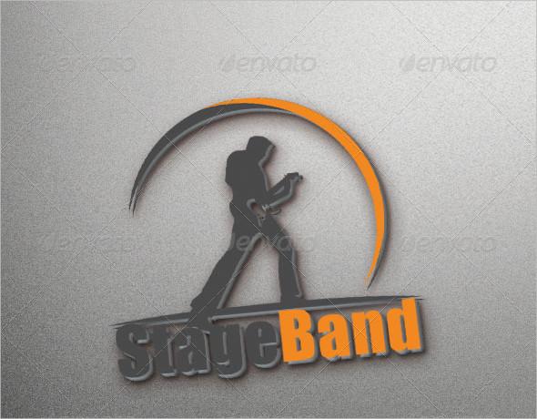 Modern Rock Band Logo