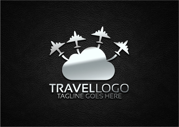 modern travel business logo