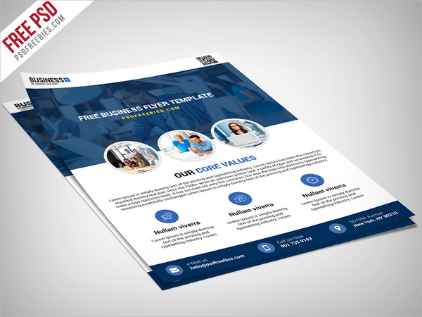 multipurpose business psd flyer