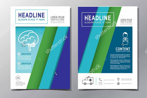 multipurpose medical advertising brochure