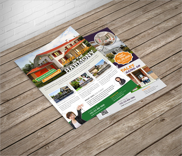 multipurpose real estate business flyer