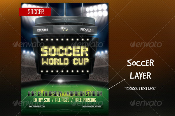 -Multipurpose Sports Event Flyer