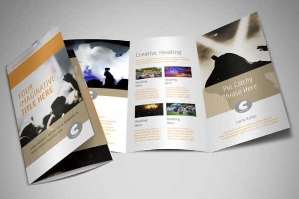 -Music Event Brochure