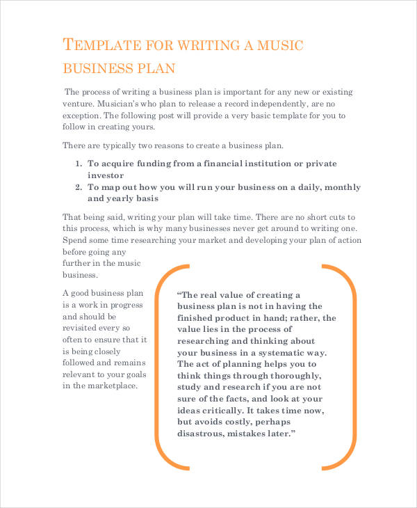 39 business proposal examples samples pdf doc music production business proposal wajeb Choice Image