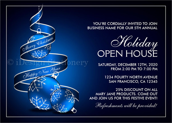 new business open house invitation