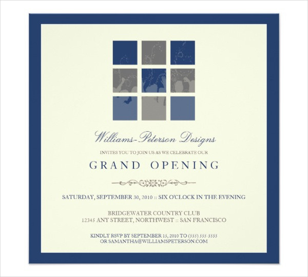 new business opening invitation