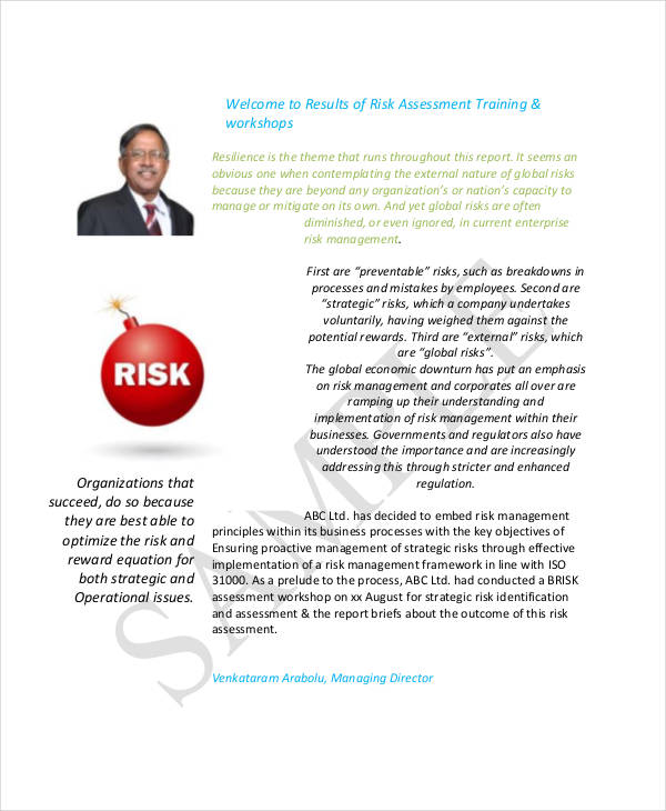 new business risk assessment