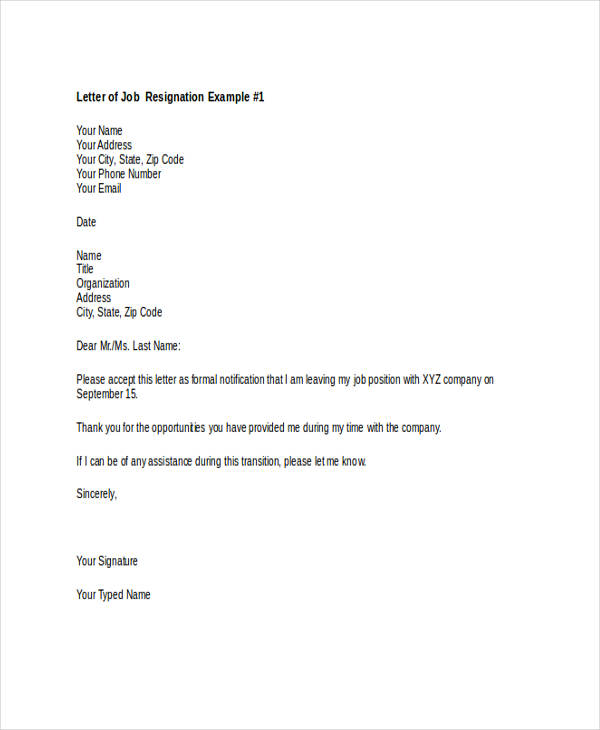 49 resignation letter examples new job resignation letter thecheapjerseys Choice Image