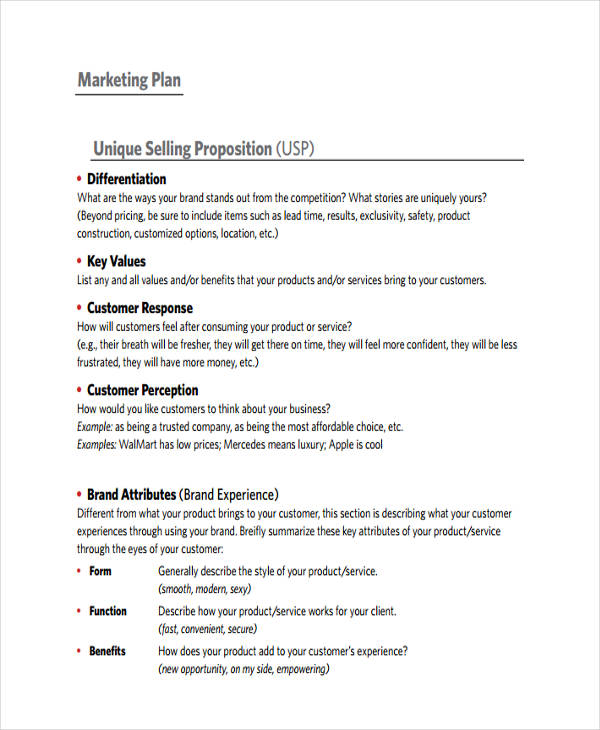 free 43  marketing plan examples  u0026 samples in pdf
