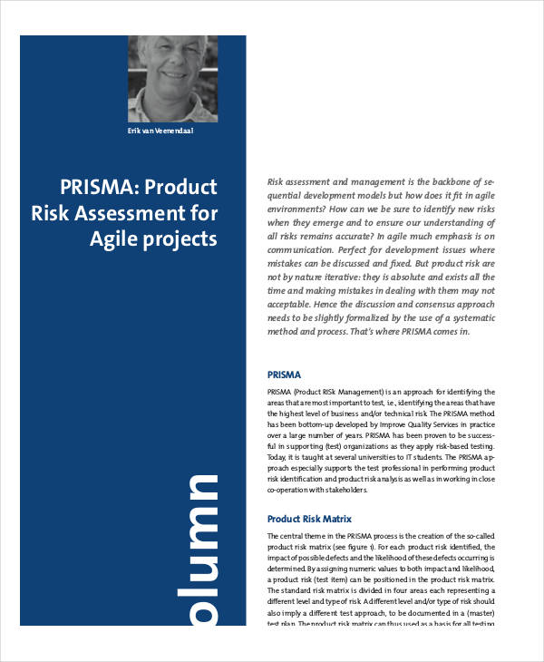 new product risk assessment