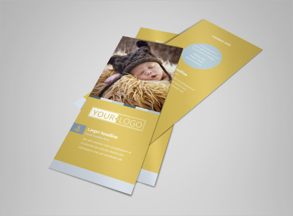 newborn photography business flyer