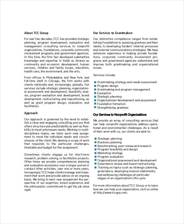 non profit communications strategic plan
