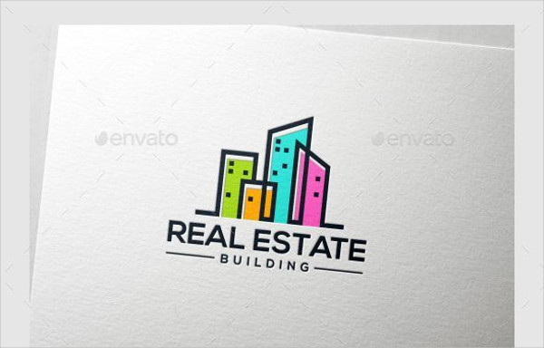 psd real estate logo