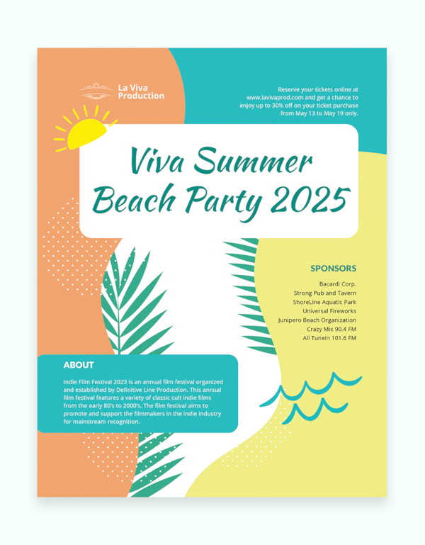 party event flyer template1