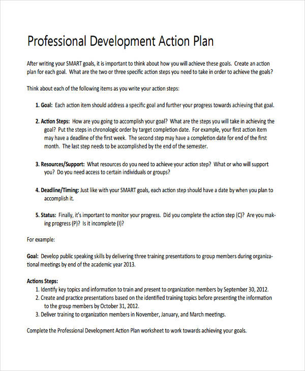 personal development action plan1