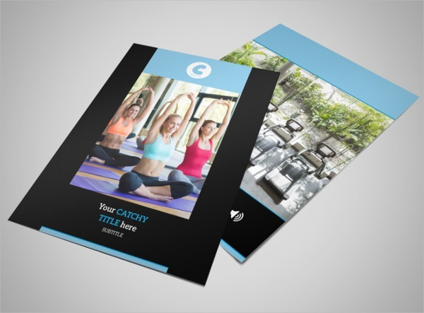 Personal Fitness Trainer Flyer