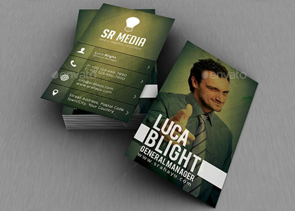 -Personal Photo Business Card