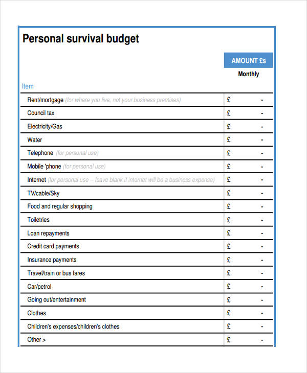 personal survival in pdf