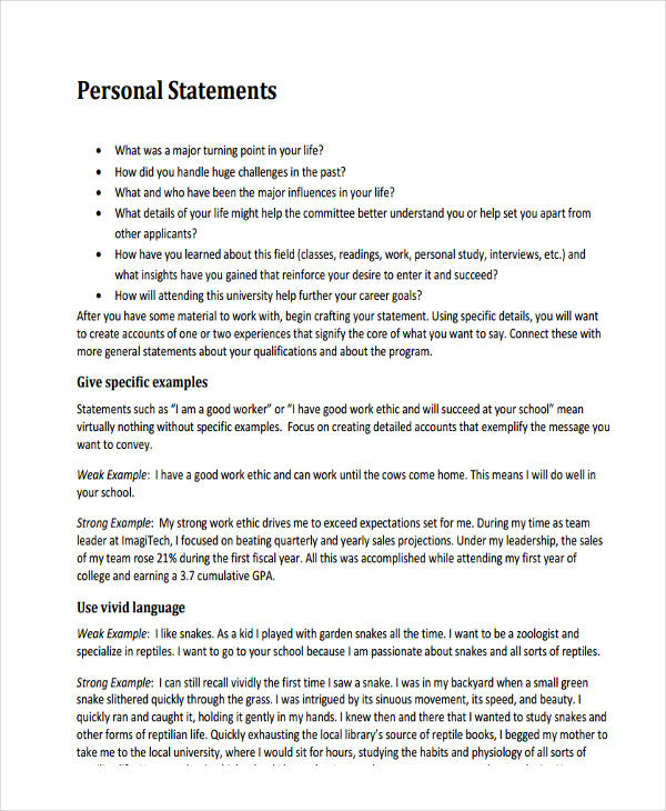 Free Law Personal Statement Sample  personalstatementcom