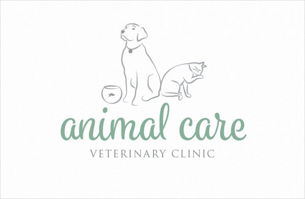 Pet Sitting Business Logo