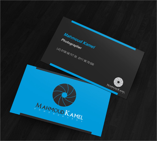 Photography Business Card Logo