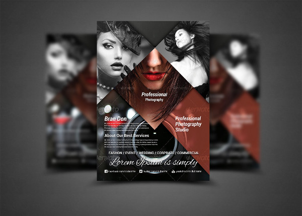 photography service business company flyer template ... |Photography Business Flyer Ideas