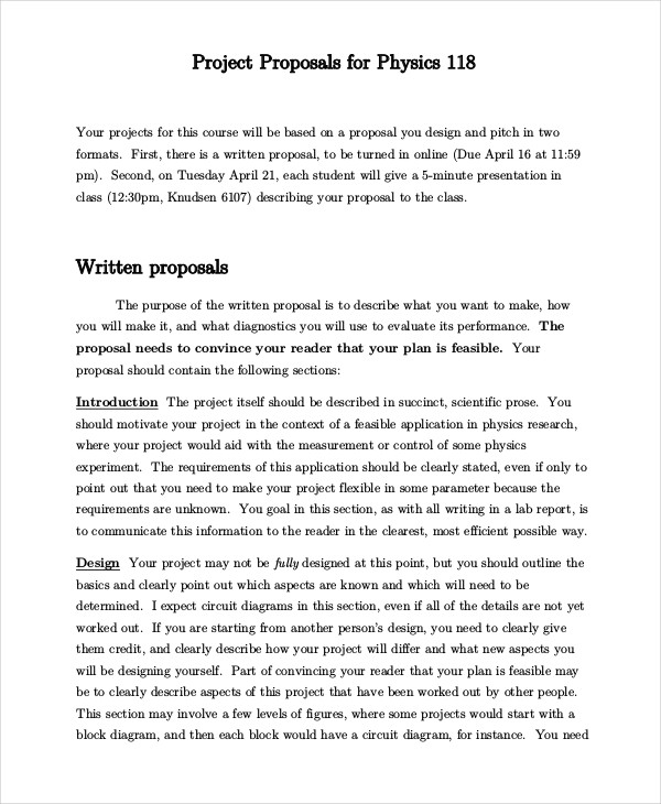 Design Document Sample Web Design Proposal Template Free Documents