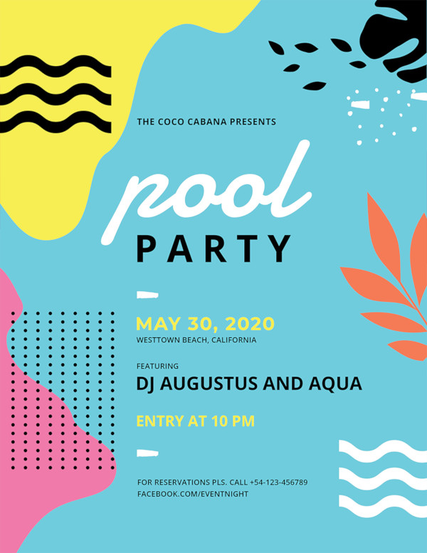 pool party flyer2