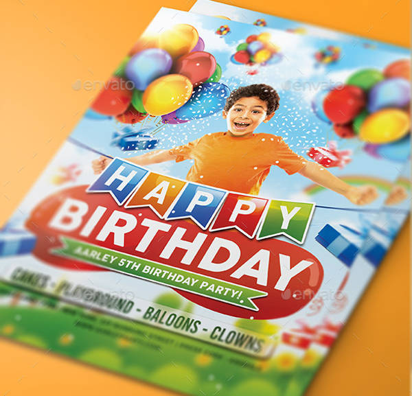 printable birthday party invitation