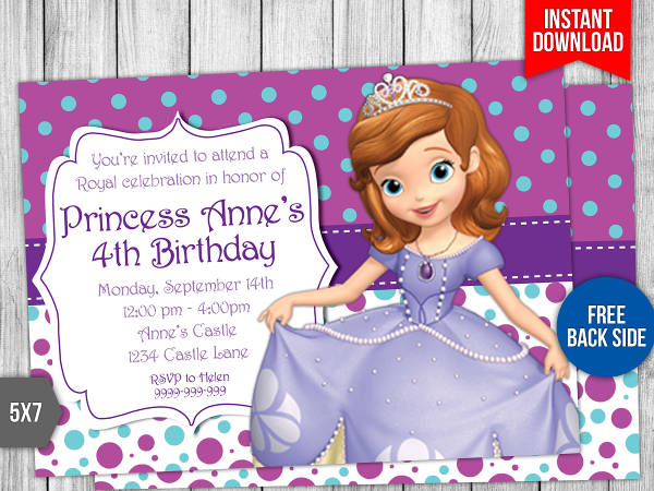 printable disney birthday card