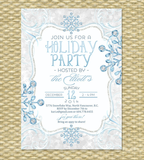 printable holiday party invitation1