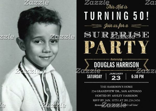printable surprise birthday invitation