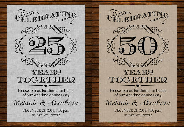 printable wedding anniversary card