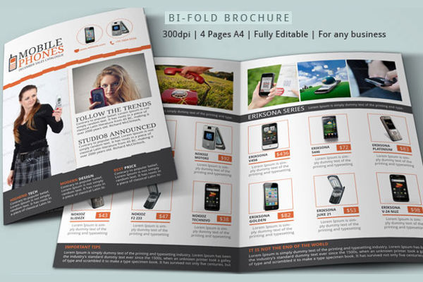 product sales brochure