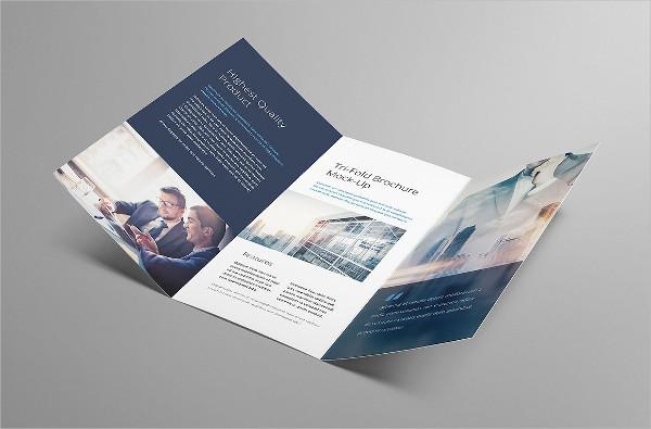 professional a4 tri fold brochure
