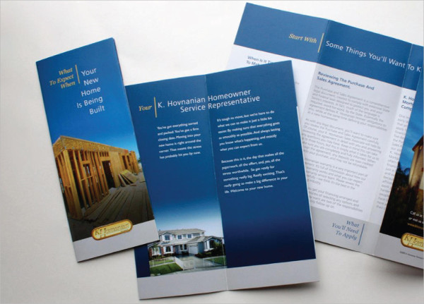 professional company advertising brochure