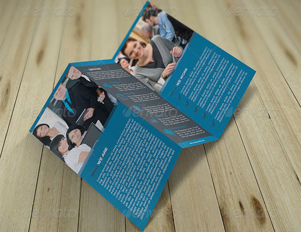professional corporate advertising brochure