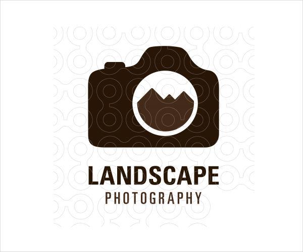 professional landscape photography logo