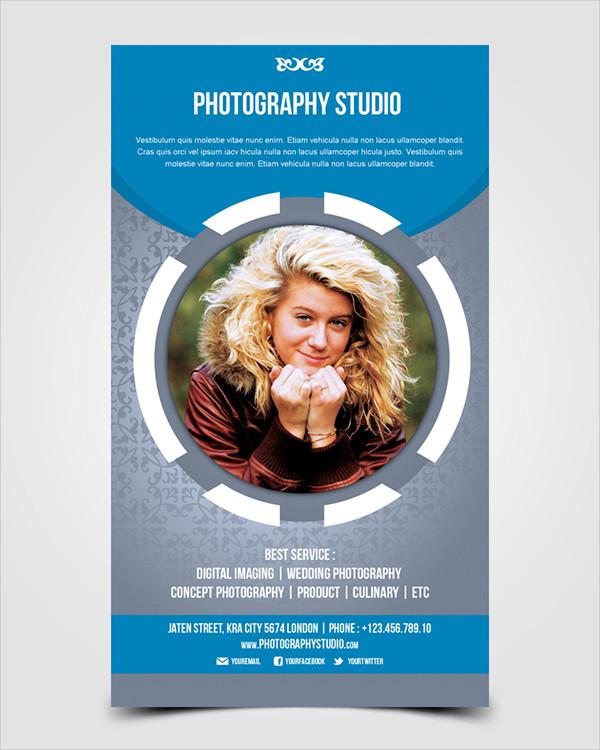 Professional Photography Studio Flyer