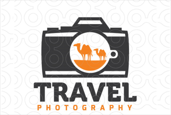 -Professional Travel Photography Logo