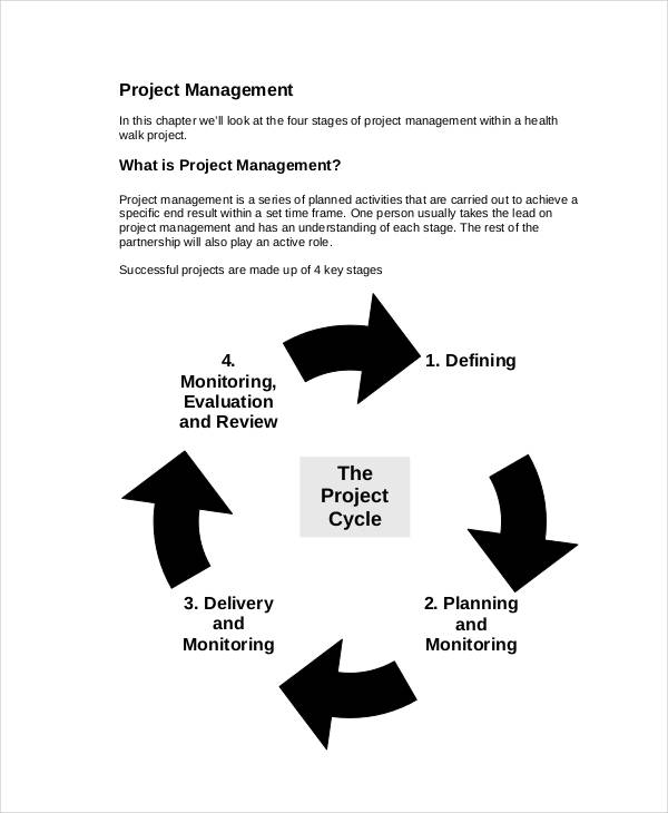project management action plan