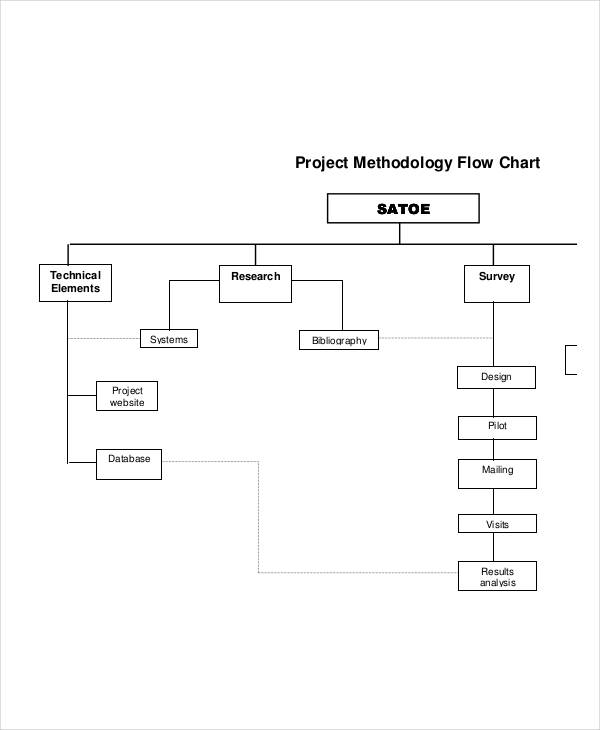 project methodology flow chart
