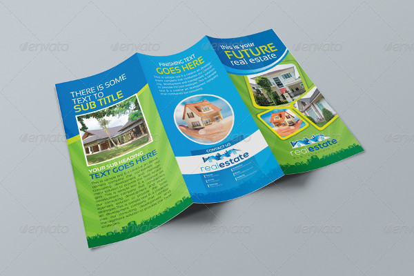 real estate corporate business brochure