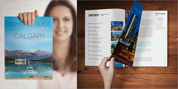 real estate development company brochure