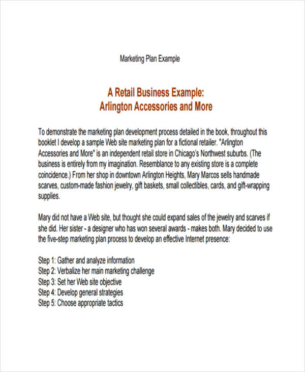 Retail Clothing Line Business Plan