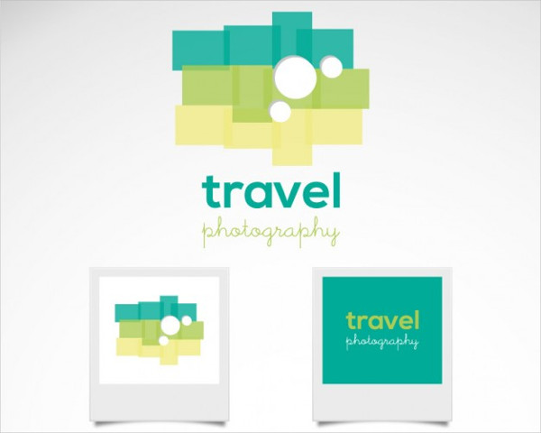-Retro Travel Photography Logo
