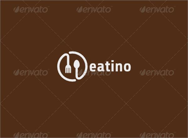 round cafe restaurant logo
