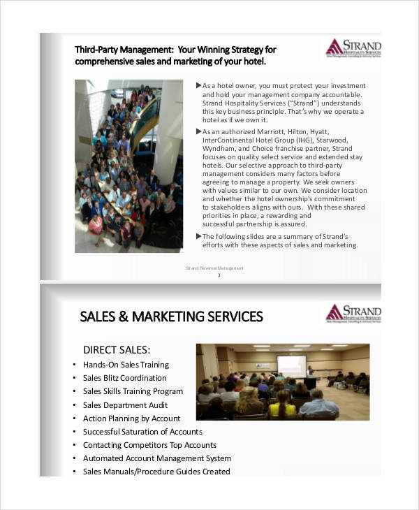 sales and marketing business proposal